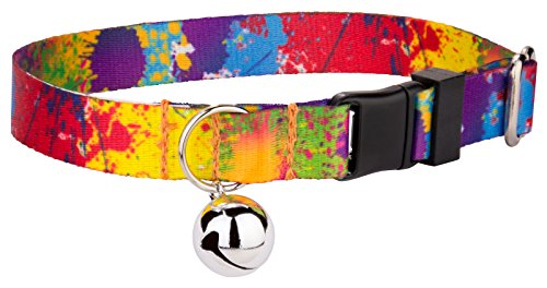 Country Brook Petz | Paint Splatter Cat Collar