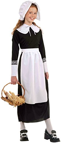 Child's Pilgrim Costume (Forum Novelties Pilgrim Child Costume Accessory Set)