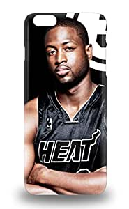 Iphone 6 Plus Hard Case With Awesome Look NBA Miami Heat Dwyane Wade #3 ( Custom Picture iPhone 6, iPhone 6 PLUS, iPhone 5, iPhone 5S, iPhone 5C, iPhone 4, iPhone 4S,Galaxy S6,Galaxy S5,Galaxy S4,Galaxy S3,Note 3,iPad Mini-Mini 2,iPad Air ) 3D PC Soft Case
