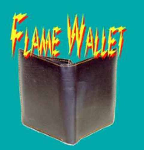 Flame Hot Fire Wallet Magnet