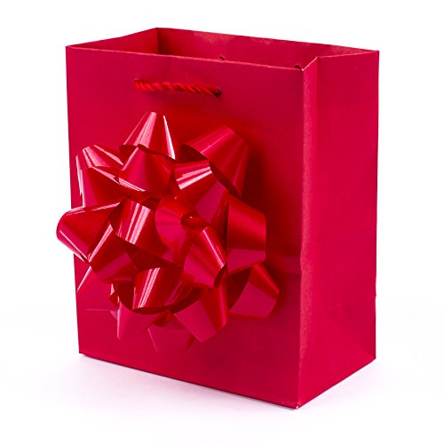 Gift Bags Jewelry Bow Red - Hallmark Small Gift Bag (Red Bow)