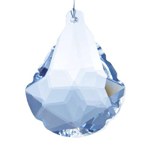 H&d 2pcs Fan Shape Glass Prisms Chandelier Crystal Lamp Parts Hanging Suncatcher Drops Pendant Review