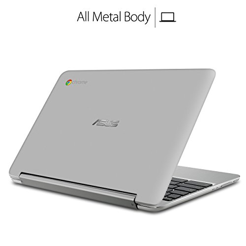 41euinSSf0L - ASUS Chromebook Flip C101PA-DB02 10.1inch Rockchip RK3399 Quad-Core Processor 2.0GHz, 4GB Memory,16GB, All Metal Body,Lightweight, USB Type-C, Google Play Store Ready to run Android apps, Touchscreen