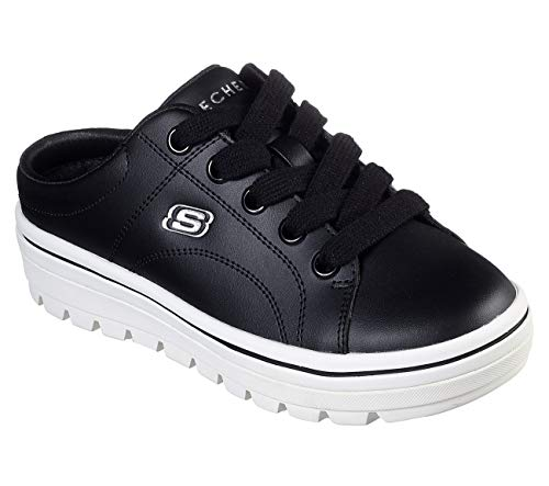 Skechers Street Cleat 2 Freshalicious Womens Sneaker Clogs Black 7.5