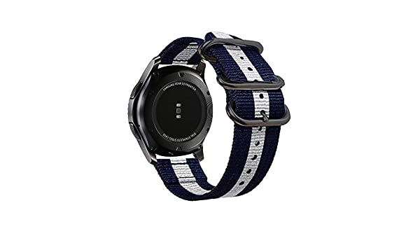 Amazon.com: Jewh Colorful Nylon Strap for Samsung Gear S3 - S2 Sport Frontier - Classic Watch Band - Samsung Smart Watch Band - Corlorful Sporty Strap ...