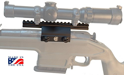 Crazy Ivan Quick-On Mosin-Nagant scope mount with low profile Picatinny rail also for red dot/reflex/holographic sights, made in the USA (Custom Sight Rail)