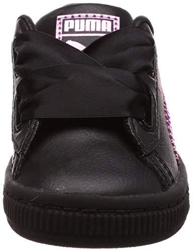 366849 Puma Sneaker 01 Negro Niños gdd4wrq