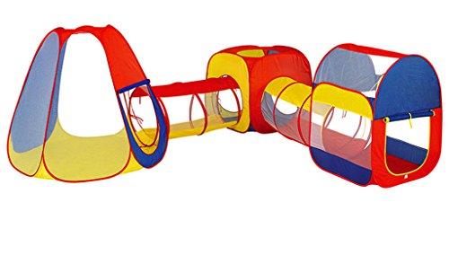 吹雪クラシカルケープZYH 子供の遊び場ポータブルテントクロール掘削穴トンネルバケット幼稚園屋内と屋外の動きおもちゃの誕生日プレゼント 広いスペース (色 : C)