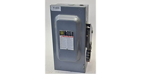 SQUARE D H362N 600V 60A Heavy Duty Fusible Safety Disconnect Switch: Amazon.com: Industrial & Scientific
