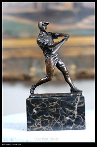 Bronze Sculpture baseball Player Figurine Bronze Statue