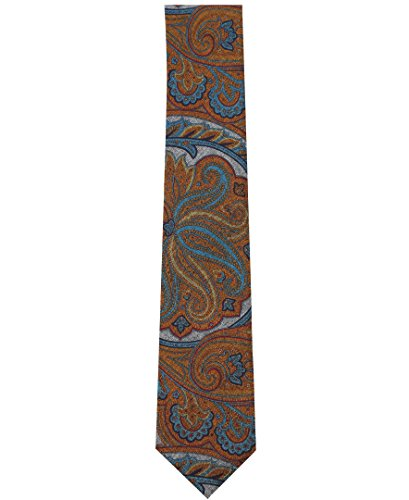 Nautica Men's Cargo Micros Tie Accessory, -tangerine, One Size (Dress Tangerine Tie)