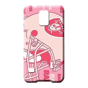samsung galaxy s5 Heavy-duty Pretty New Arrival phone skins oakland raiders nfl football