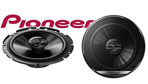 Einbauset f/ür Skoda Fabia 1 6Y Front 16cm 2-Wege Koax Koaxiallautsprecher Auto Einbausatz Lautsprecher Boxen Pioneer TS-G1720F JUST SOUND best choice for caraudio