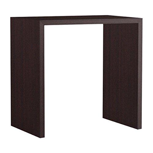arne カウンターテーブル バーテーブル セミオーダー 日本製 幅95cm 奥行50cm 高さ90cm ミーティングテーブル 机 テーブル 木製 Zero-X 9550HH ホワイトウッド B079L139WL 幅95×奥行50,ホワイトウッド