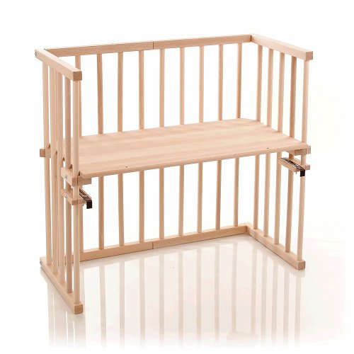 babybay mini - 140100 - Cuna de colecho, color madera natural [Importado de Alemania]: Amazon.es: Bebé