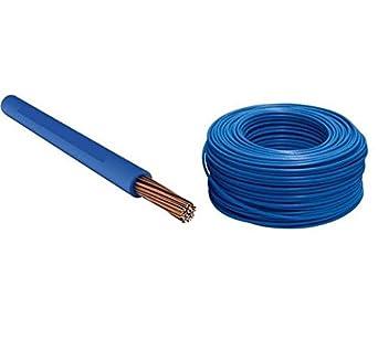 Cable eléctrico Cuerda Cordina N07 V-K unipolar 1 x 50 mm² azul precio al metro