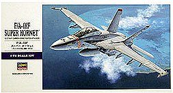F-A-18F Super Hornet US Navy Fighter Attacker 1-72 by Hasegawa Super Hornet Model Kit