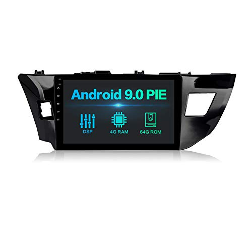 Dasaita 10 Android 9.0 Bluetooth Car Stereo Head Unit with 4G RAM// 64G ROM for Mitsubishi Lancer Car Radio Without Factory Rockford System Touch Screen GPS Navigation Dash Kit Built in DSP 15Band EQ