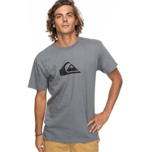Quiksilver Men's Comp Logo, Quiet Shade, - M Shades