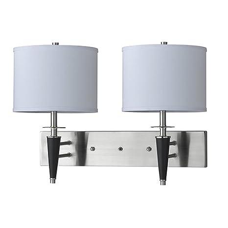 Amazon.com: CAL iluminación de la-8002 W2l-1bs – Aplique de ...