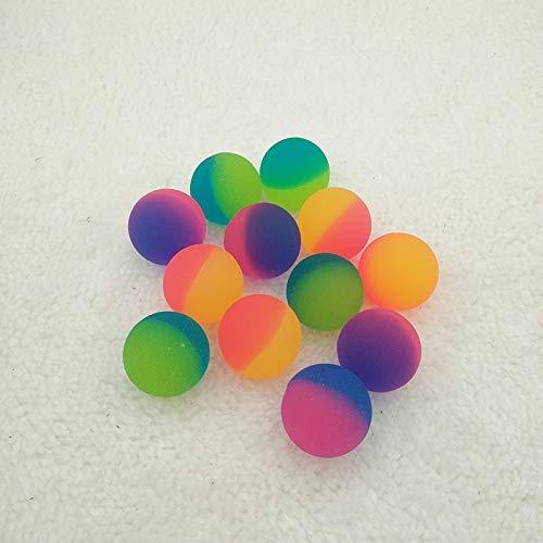 (GonPi Toy Balls - Rubber Bouncing Balls Watermelon Jumping Ball for Kids Pinball Bath Toys Child Sports Games Elastic Juggling Children Toy 10pcs)