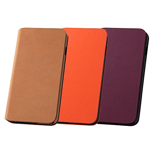 Classic Office Special Leather Case for iPhone 6 Plus (Orange)