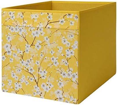 Ikea Drona - Patrón de flores amarillas (33 x 38 x 33 cm), color amarillo: Amazon.es: Bricolaje y herramientas