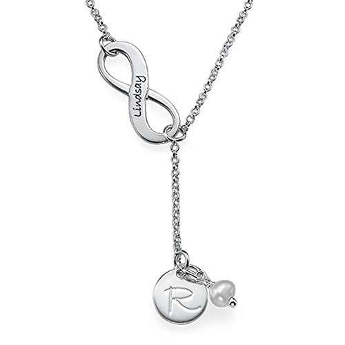 Personalized Necklaces Engraved Infinity Symbol Custom Necklace Christmas Gift Valentines Gift(silver - & Tiffany Co Shopping Online
