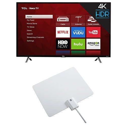 TCL 49S405 49-Inch 4K Ultra HD Roku Smart LED TV (...