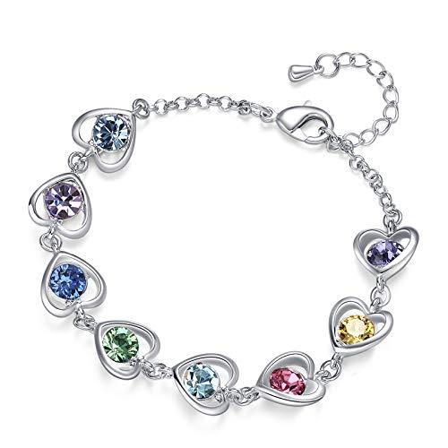 K Acc Heart Bracelet Packaging Rainbow product image