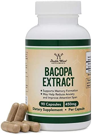 Bacopa Monnieri Capsules Concentrated Supplements product image