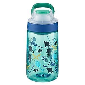 Contigo AUTOSEAL Gizmo Sip Kids Water Bottle, 14 oz., Jungle Green