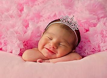 Amazon.com   Infant Tiara Baby Headband f3a1233ffa2
