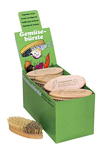REDECKER Brosse /à l/égumes Cuisine Brosse fibre /& Union H/être Brosses au lieu de /éplucher