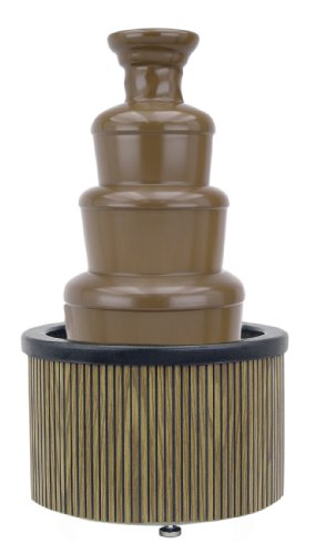 Buffet Enhancements Chocolate Fountain 27 Inch Tambour Decorative Skirting, Wood Finish