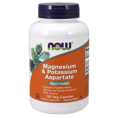 - Now Supplements, Magnesium & Potassium Aspartate with Taurine, 120 Capsules