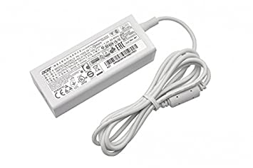 Acer Cargador 45 vatios Blanca Original para la série TravelMate Spin B1 B118-RN: Amazon.es: Electrónica