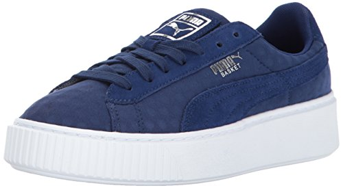 PUMA Women Basket Platform DE Wn Blue Depths-blue Depths