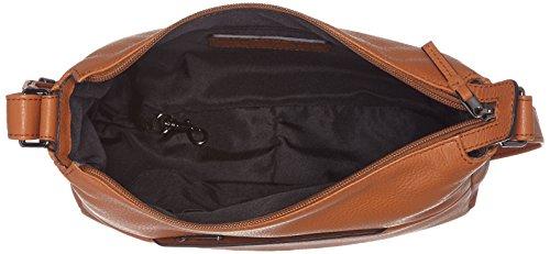 BREE Damen Faro 2 Umhängetasche, Braun (Saddle Brown), 30x9x29 cm