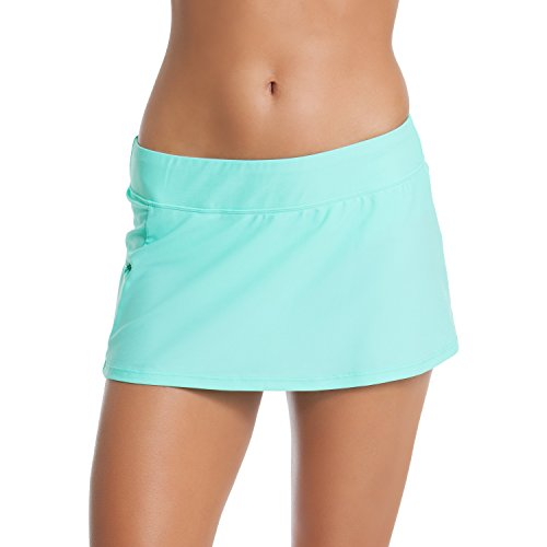Go Gossip Solids Skirtini Mermaid Blue
