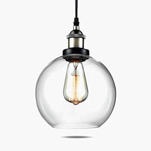 Vintage Glass Pendant Light Shades - 3