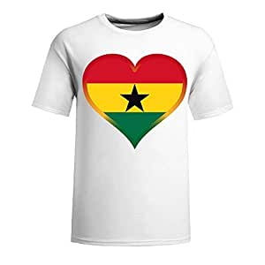 Brasil 2014 FIFA World Cup Mens Football Background Short Sleeve Cotton T-shirt for Fans white