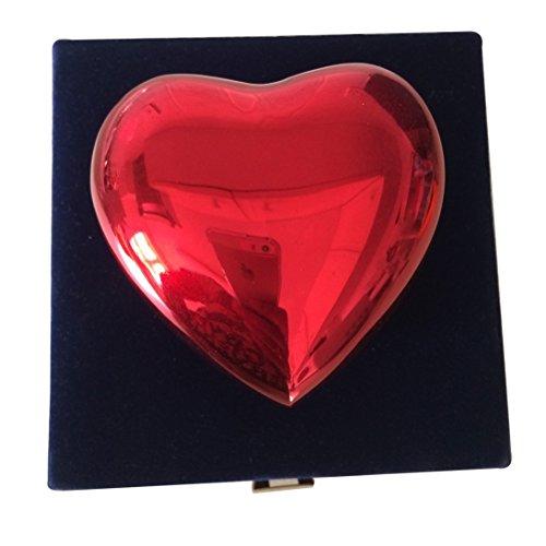 - Red Classic Heart Keepsake Urn