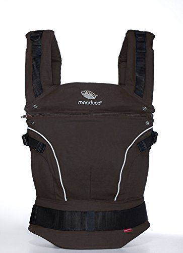 Manduca Pure Cotton Baby Carrier (Coffee Brown)