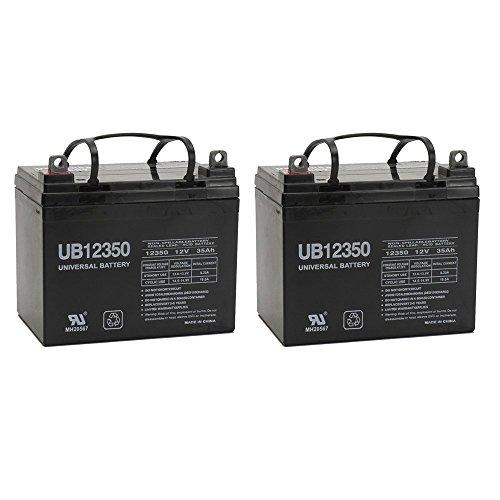 12V 35AH Wheelchair Battery Replaces 33ah Centennial CBM-33 - 2 Pack (Backup Battery Volt)