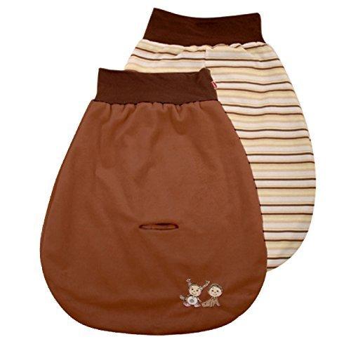 Matex bébé Baby Gigoteuse d'emmaillotage/Gigoteuse/siège auto Gigoteuse–Assortis Marron MOLEO Sp.z o.o. M00001534