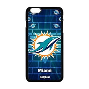 Cool Painting Miami Dolphins Fashion Comstom Plastic case cover For Iphone 6 Plus