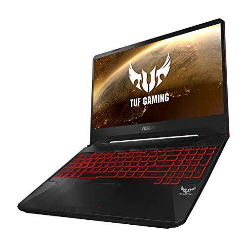 "ASUS TUF Gaming FX505DY-BQ024 - Portátil Gaming 15.6"" (Ryzen 5 3550H, 8GB RAM, 512GB SSD, AMD Radeon RX560X 4GB, sin Sistema operativo) Negro Red Matter - Teclado QWERTY Español 3"
