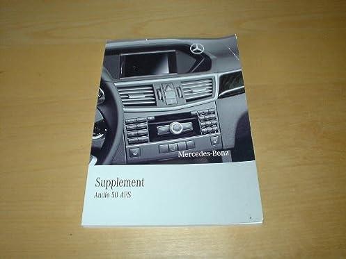 mercedes benz audio 50 satnav navigation owners manual handbook rh amazon co uk Tour Guide Audio Systems Tour Guide Audio Systems