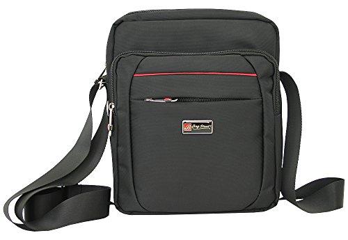 d23cb6aa40423 Herren Schultertasche klein bis mittelgroße Umhängetasche für Männer  crossover Messenger Bag Nylon-Tasche schwarze Handtasche (2364)  Amazon.de   Koffer